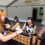 Masters of Rock 2013 offstage