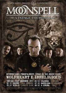Moonspell Vintage Tour in Spain