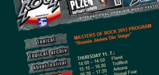 Masters of Rock Program