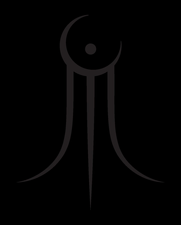 Ancient Symbols Of Darkness Ancient Yin Yang Symbol Melamine Plate